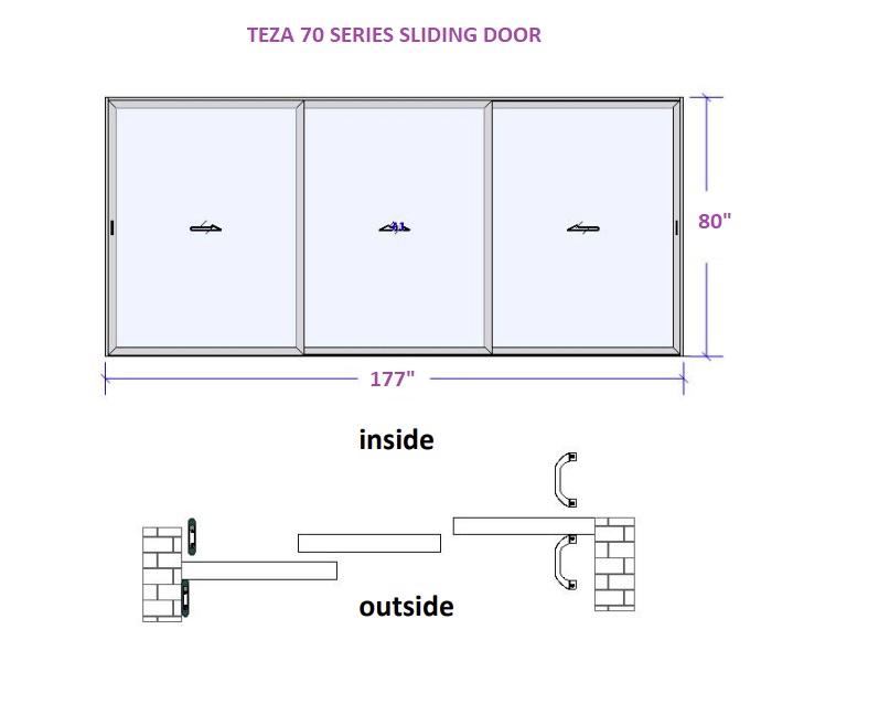 TEZA SLIDING DOOR