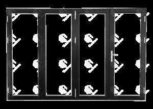 TEZA 70 SERIES FOLDING DOORS