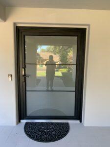 TEZA ALMINUM ENTRY DOOR